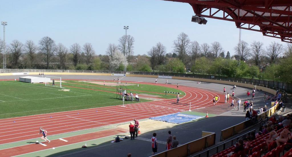 Palmer Park stadium.