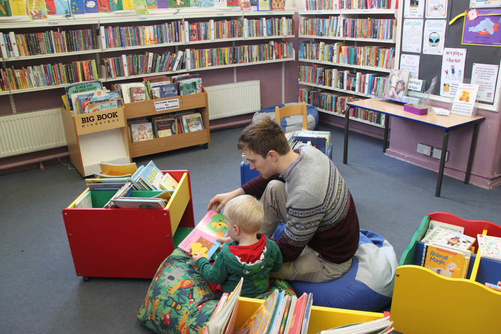 Caversham Library.