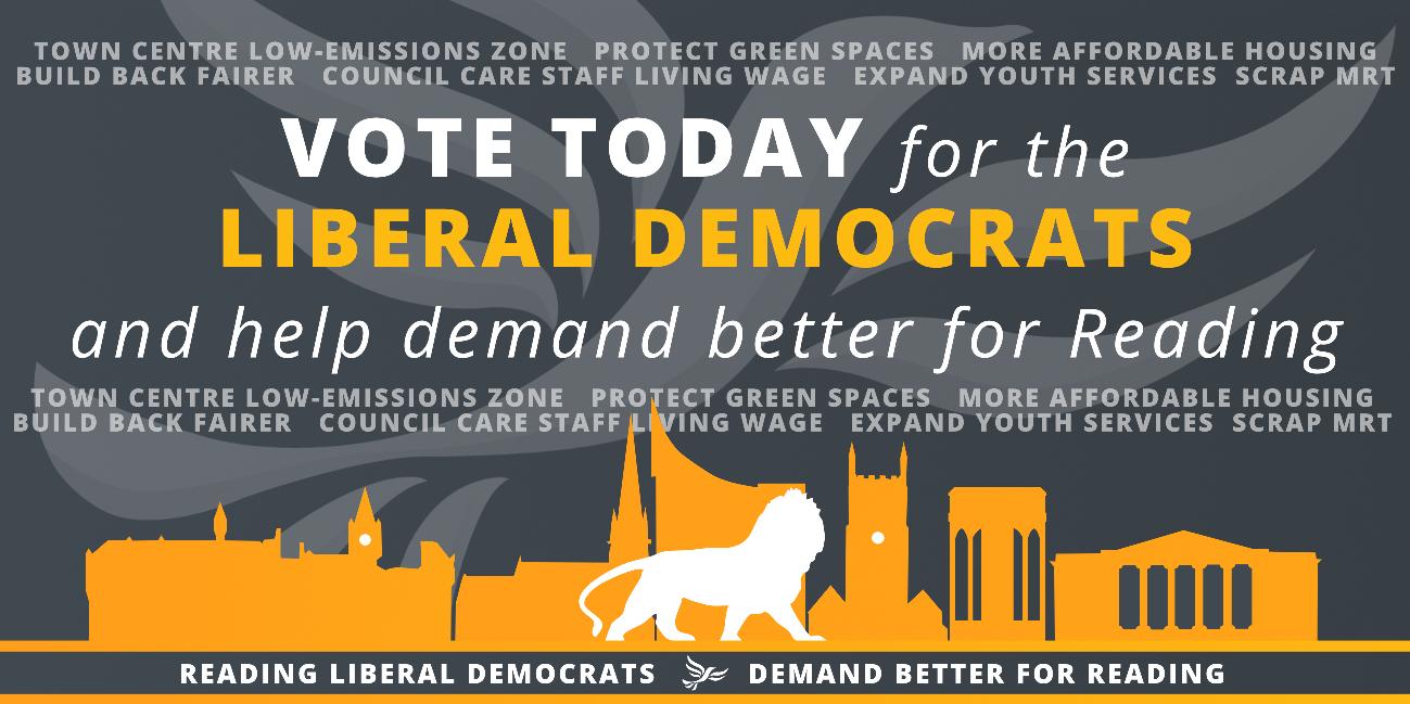 Vote Liberal Democrat Today