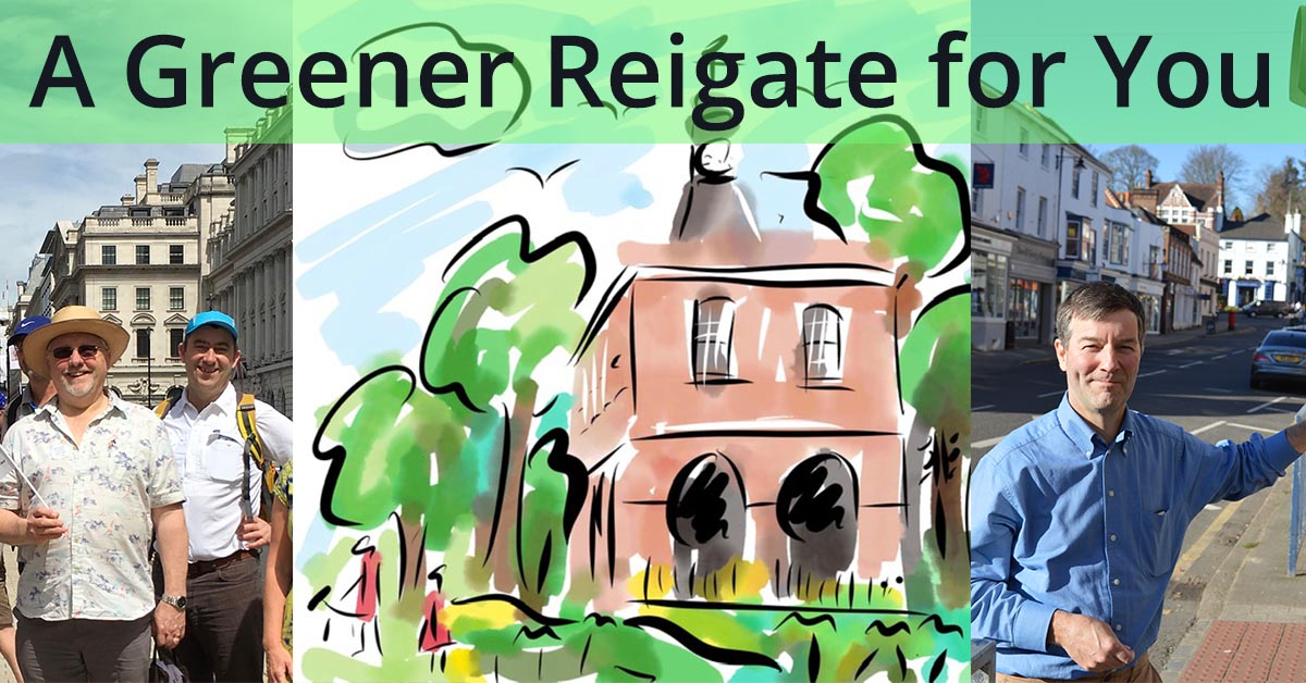 Greener Redhill and Reigate