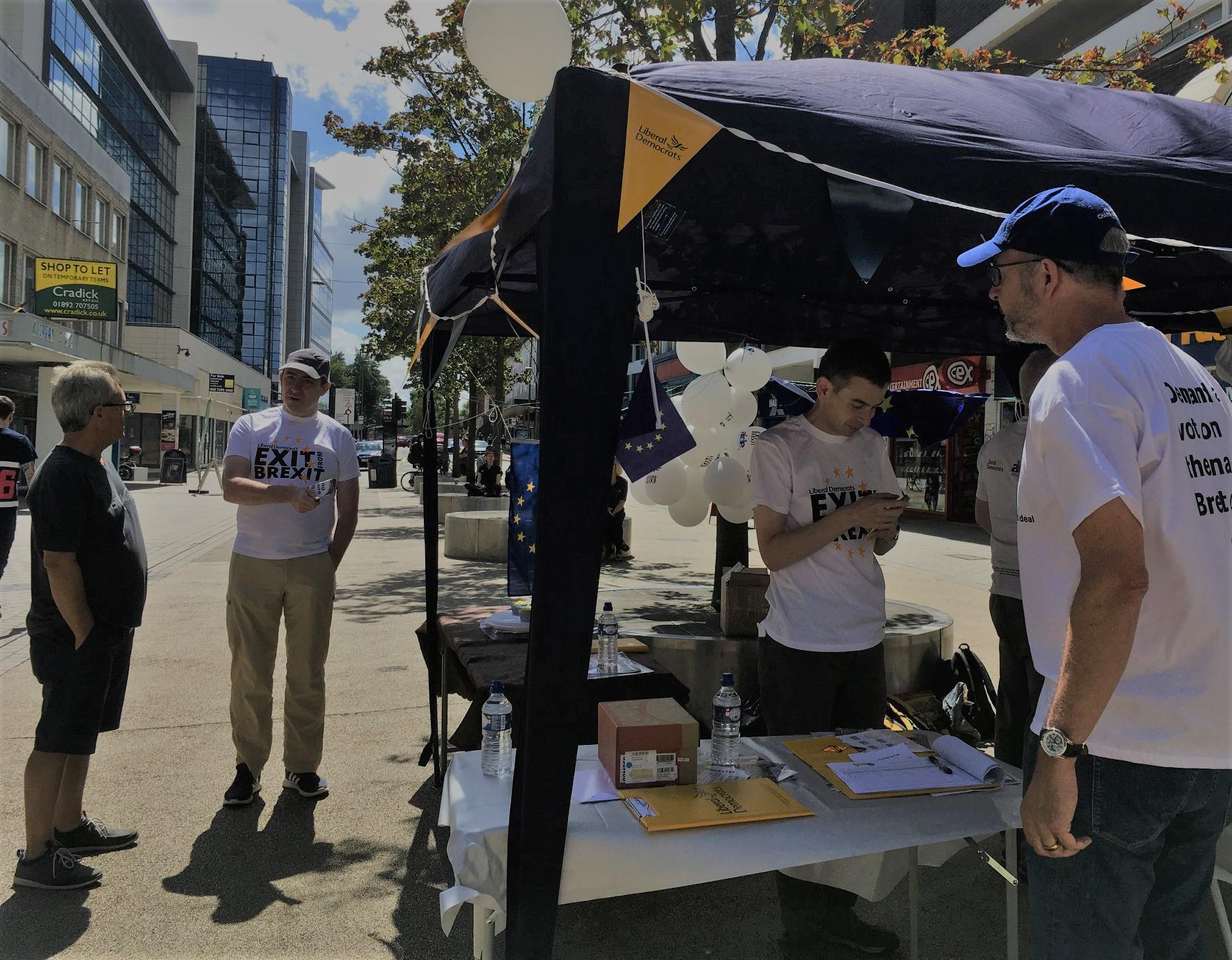 Reigate street stall