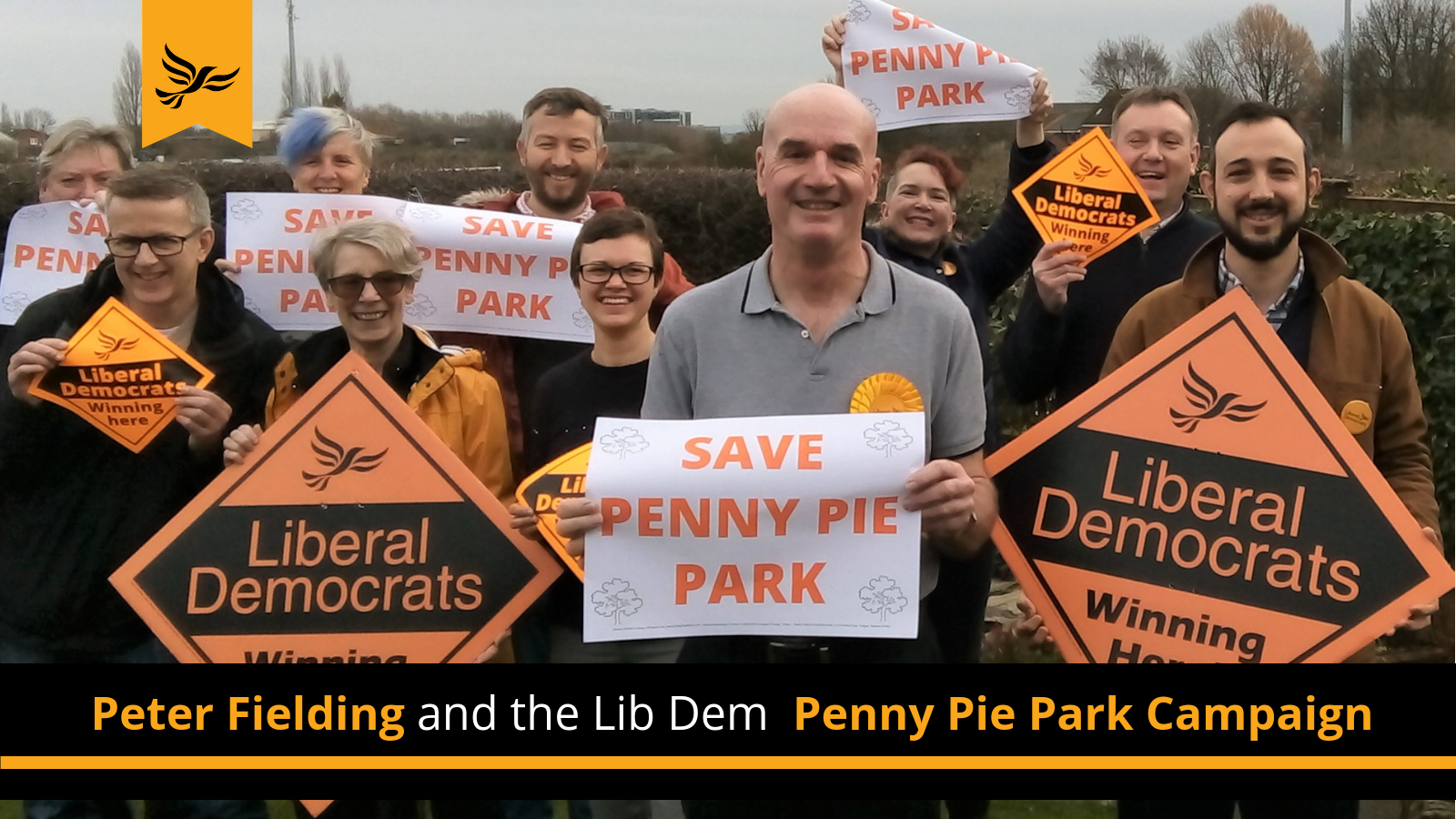 Peter Fielding and Penny Pie Park