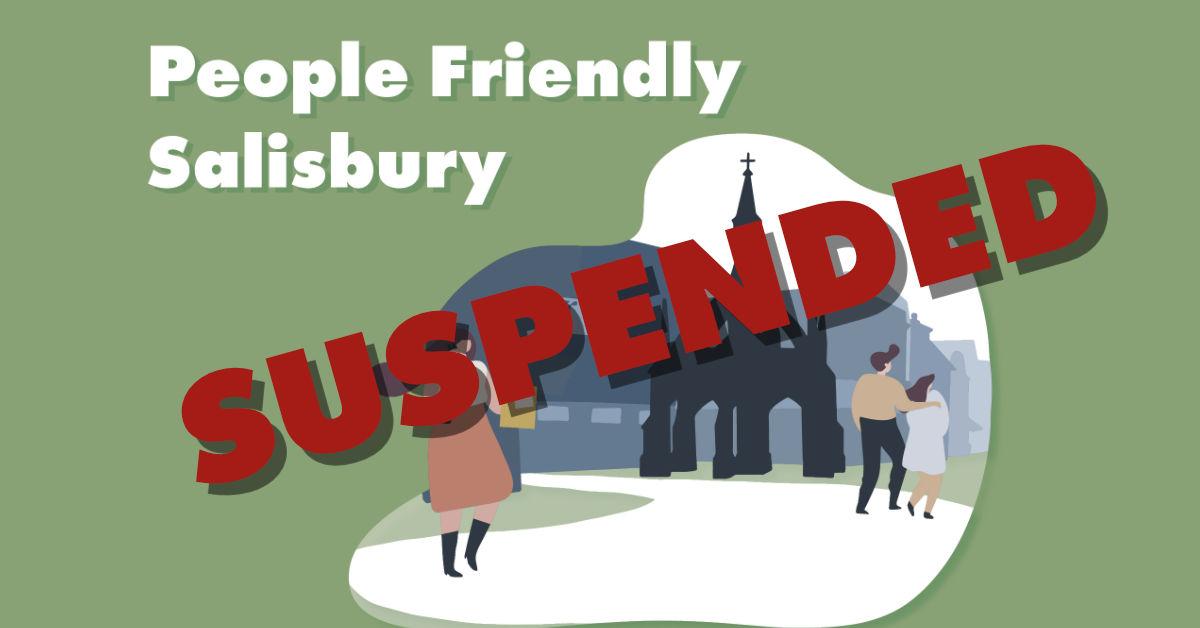 Wiltshire Council suspends People Friendly Salisbury scheme