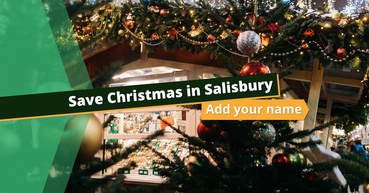 Save Christmas in Salisbury