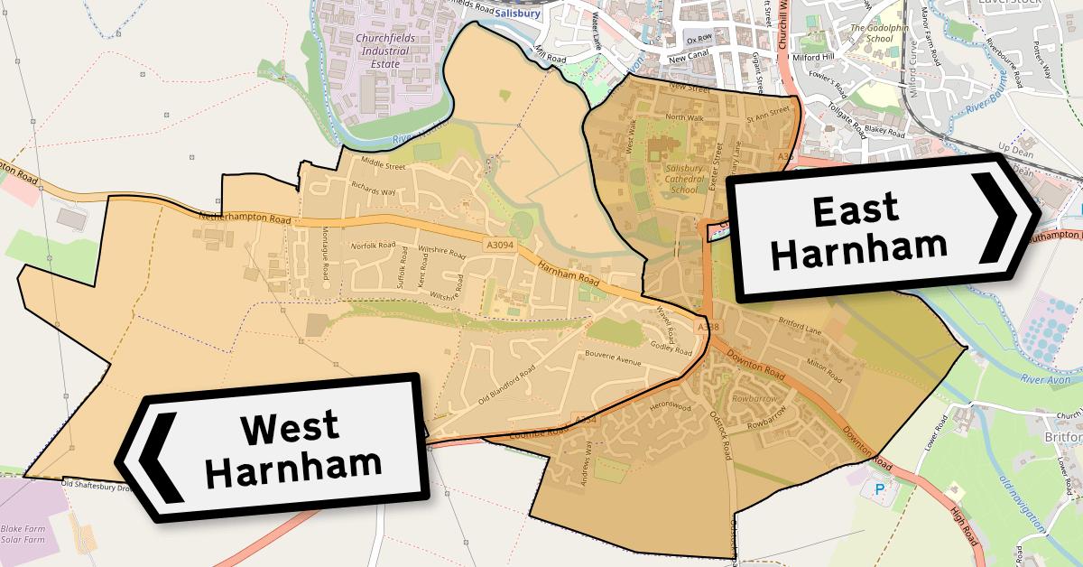 Harnham New Ward Boundaries