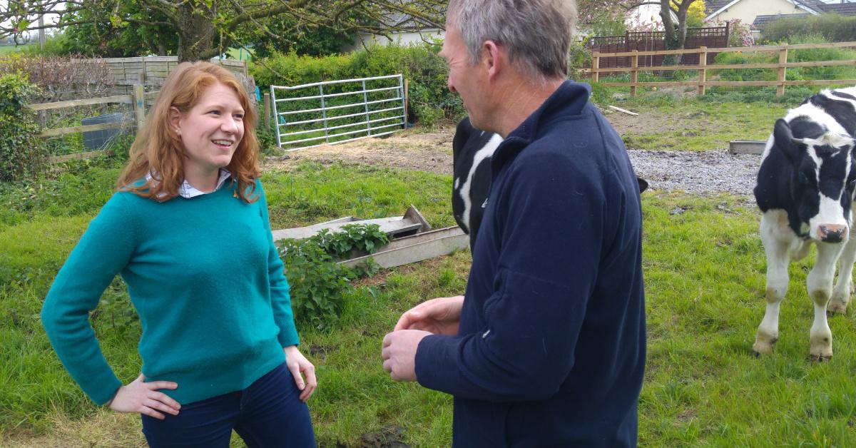 John Glen MP has thrown British farmers on the scrapheap, Lib Dems warn.