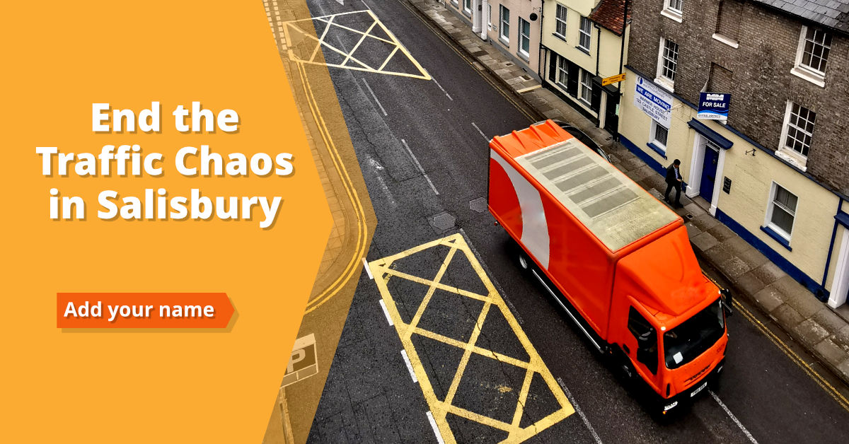End the Traffic Chaos in Salisbury