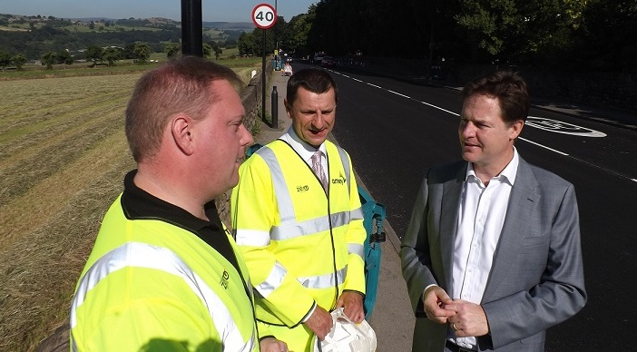 Fixing Sheffield's roads thanks to Nick Clegg