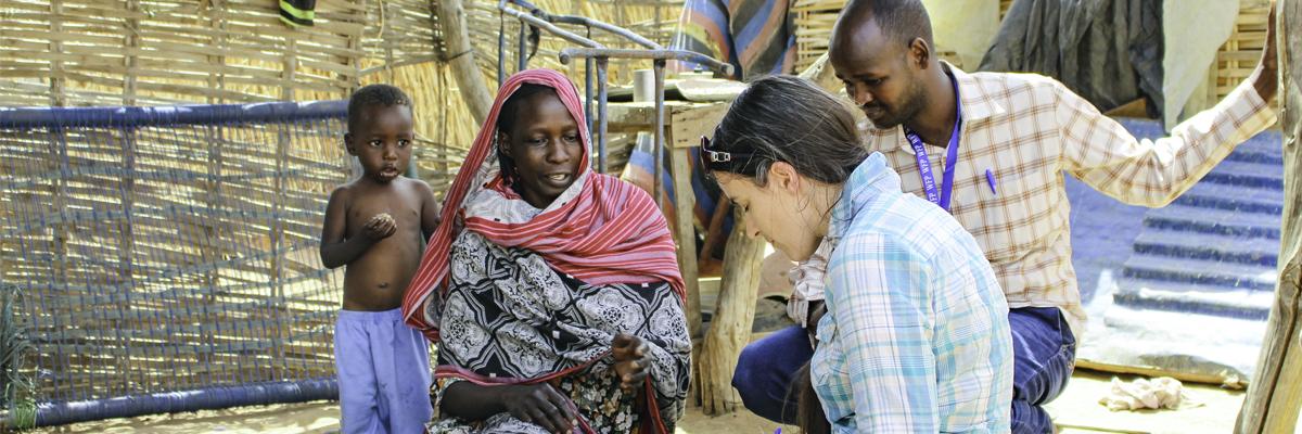 Laura has worked in international development
