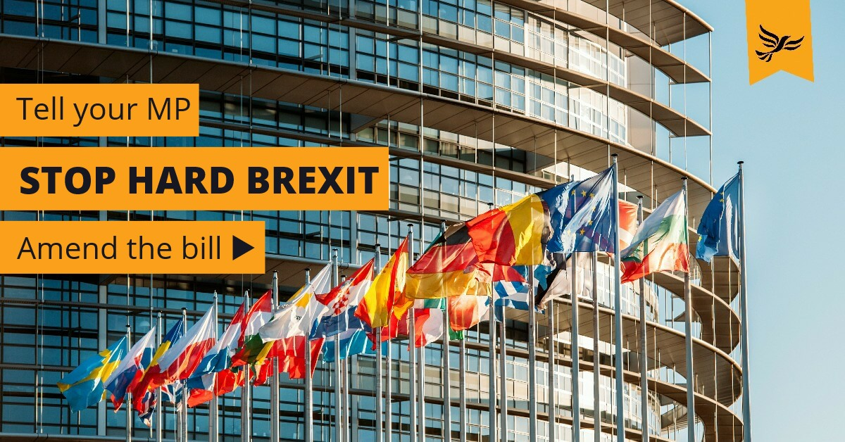 Stopping hard Brexit by amending the EU Withdrawal Bill