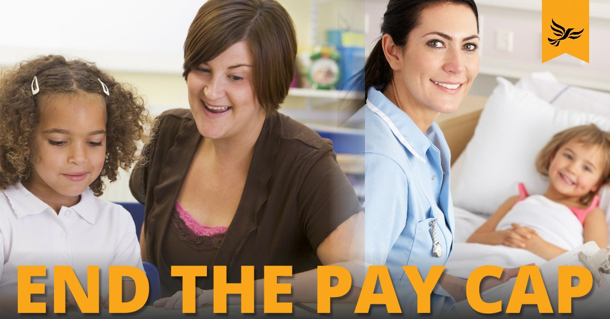 End the pay cap
