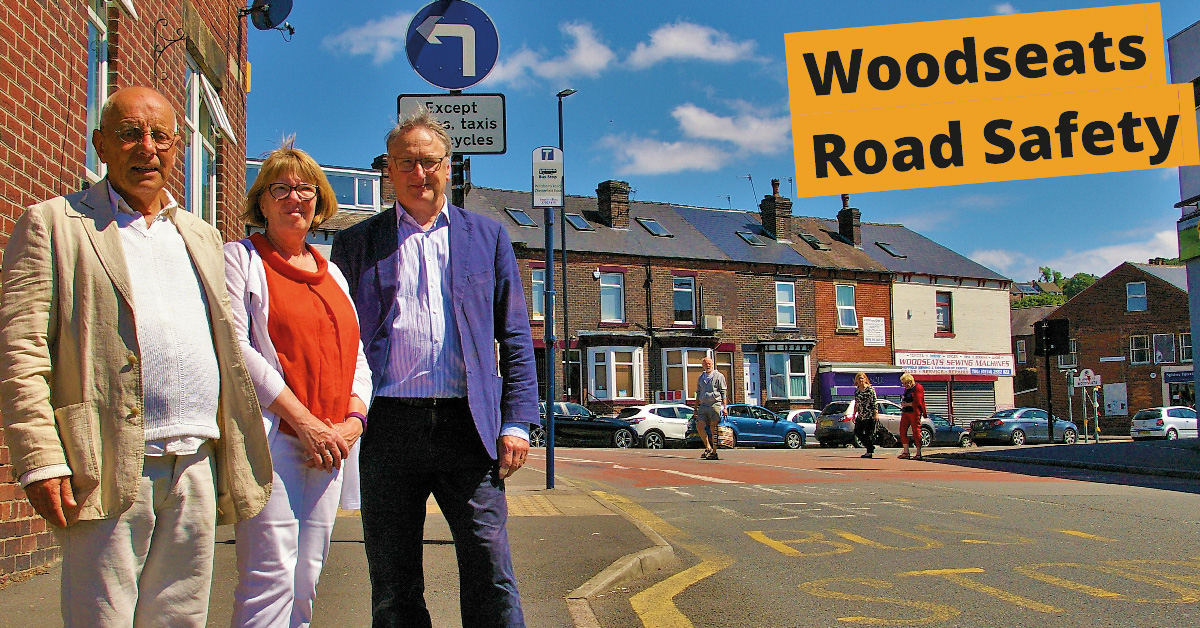 First victory for Woodseats School road safety campaigners