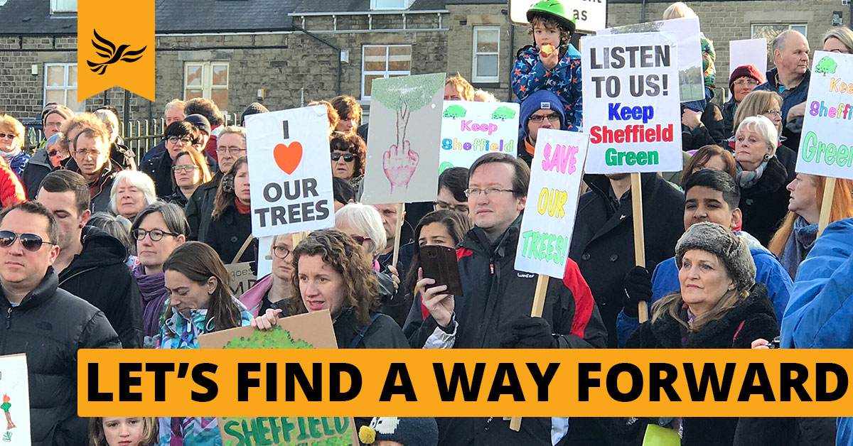 Let's Find Solutions To Bring Sheffield Together