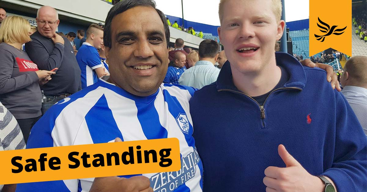 Safe Standing For Football