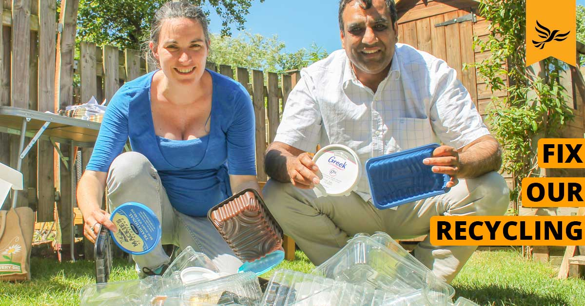 Lib Dems Launch Recycling Campaign
