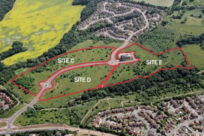 Sites earmarked for development