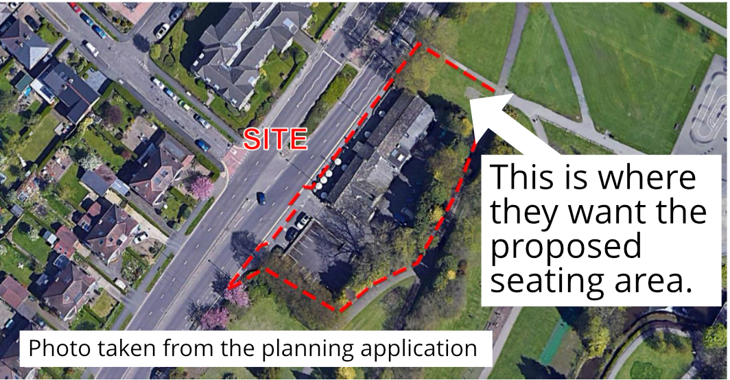 The proposed site
