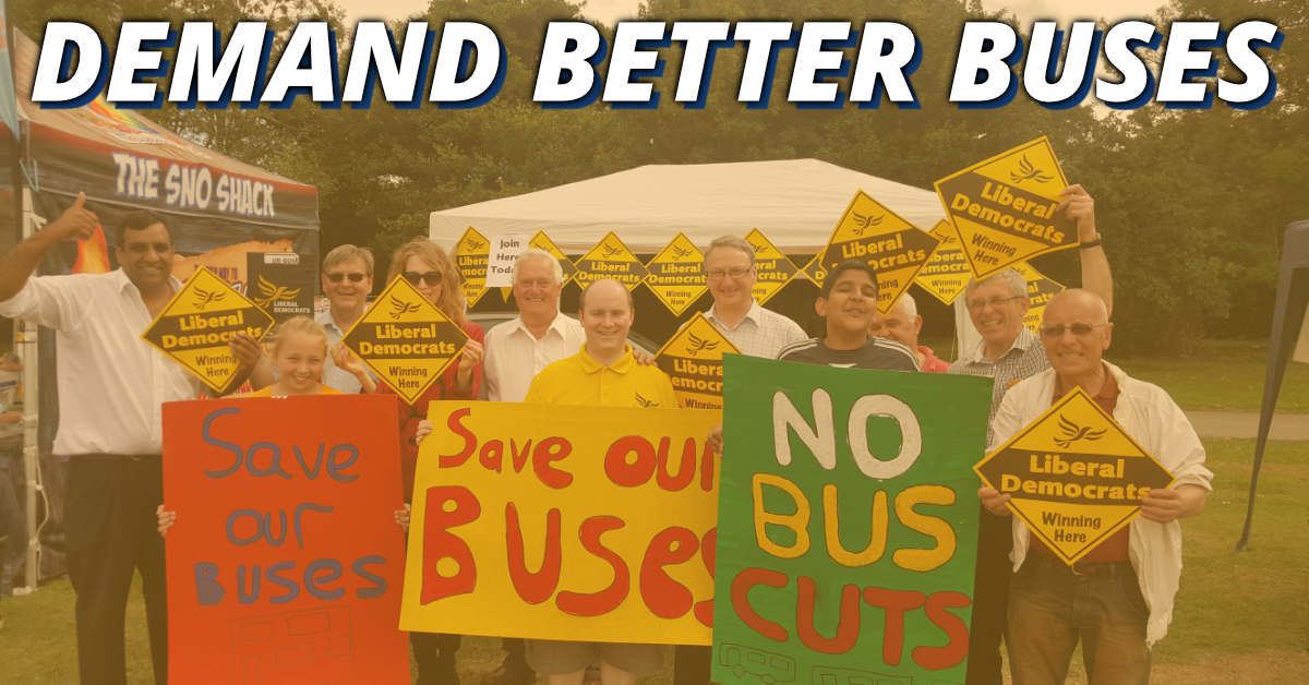Demand Better Buses 🚌
