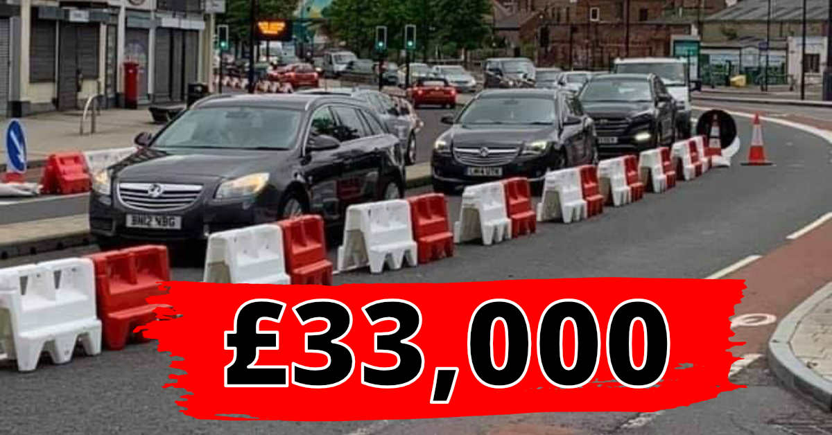 £33,000 spent on Shalesmoor cycle lane