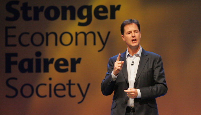 UCAS figures show university application rates up across Sheffield, says Nick Clegg