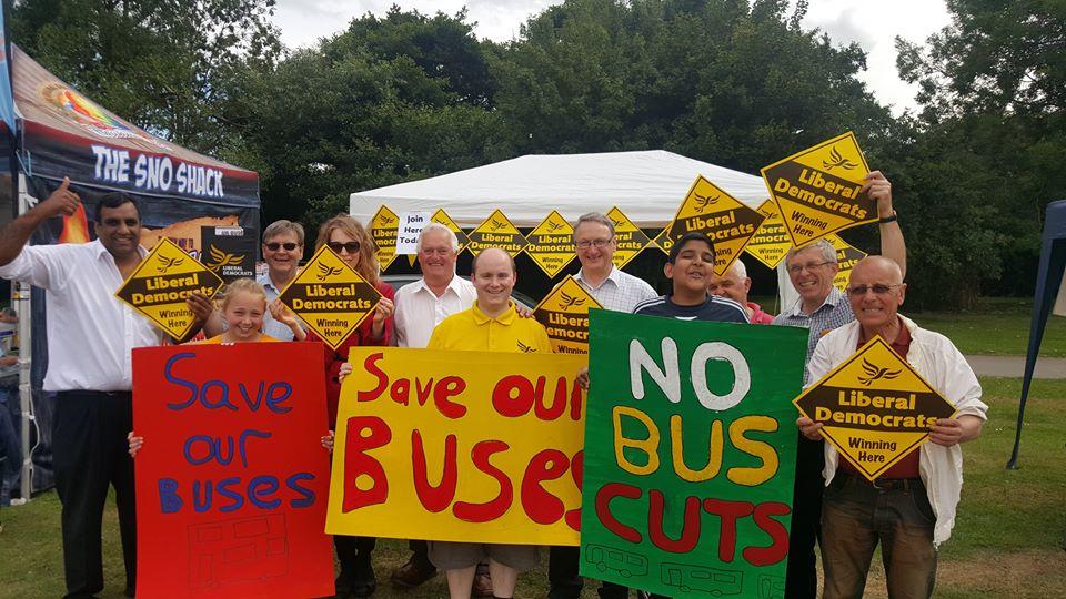 Lib Dems condemn new wave of bus cuts
