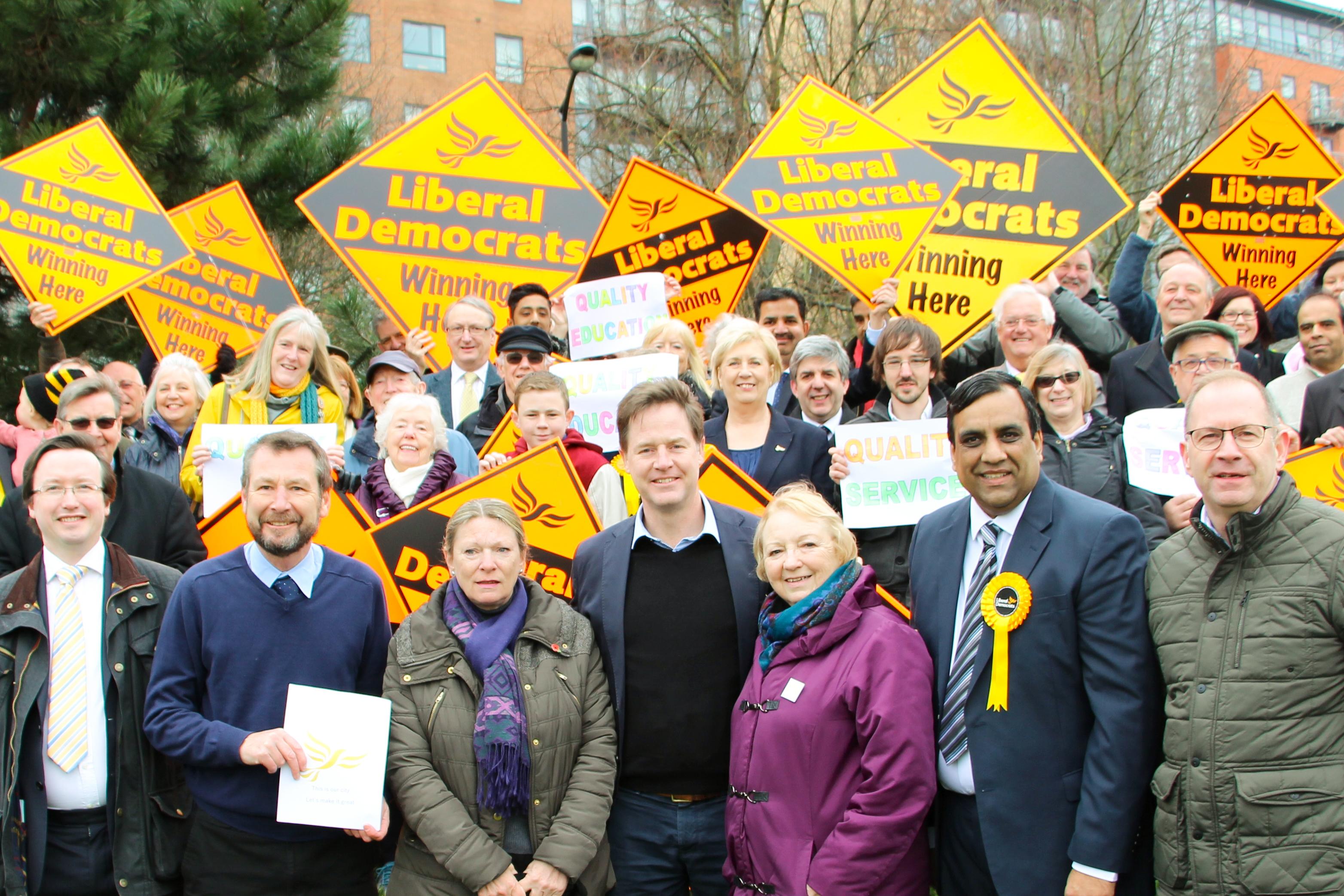 Nick Clegg - Hallam candidate