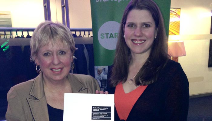 Lorely Burt MP & Jo Swinson at the Women in Enterprise Launch