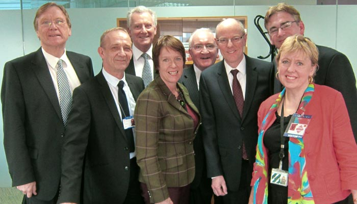 Lorely Burt MP joined with Meriden's MP & Solihull councillors seeking fairer funding for Solihull schools