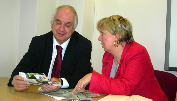 Lorely Burt meets the Police and Crime Commissioner to discuss Shirley Police Station
