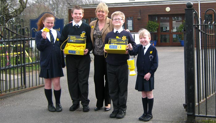 Coppice Junior School and Lorely Burt MP