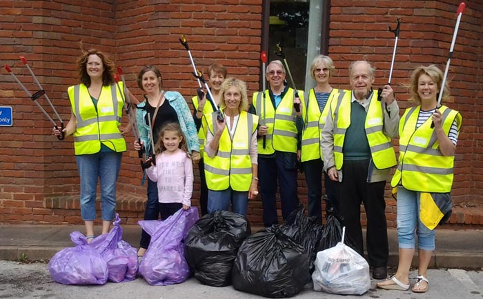 The Olton Literary Litter Pickers