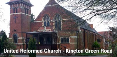 United Reformed Church on Kineton Green Road