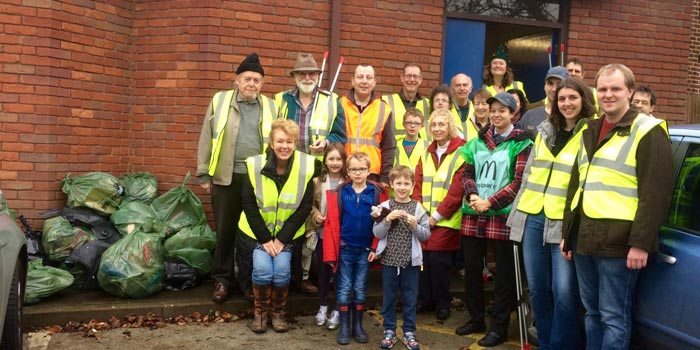 Olton Literary Litter Pickers