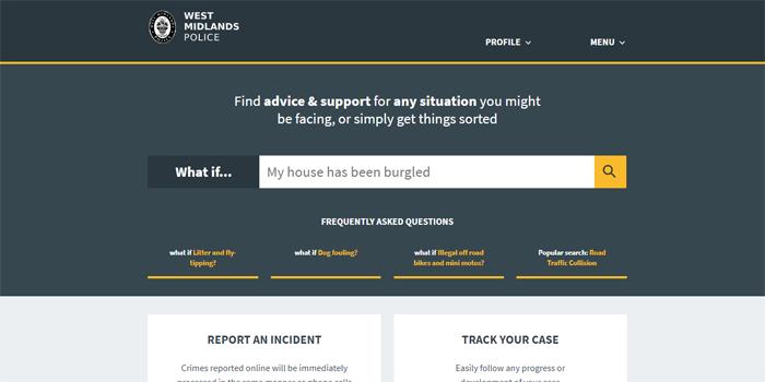 police-website