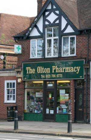 Olton Pharmacy on the Warwick Rd Olton
