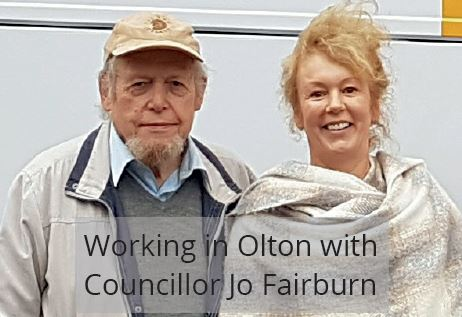 John with Jo Fairburn
