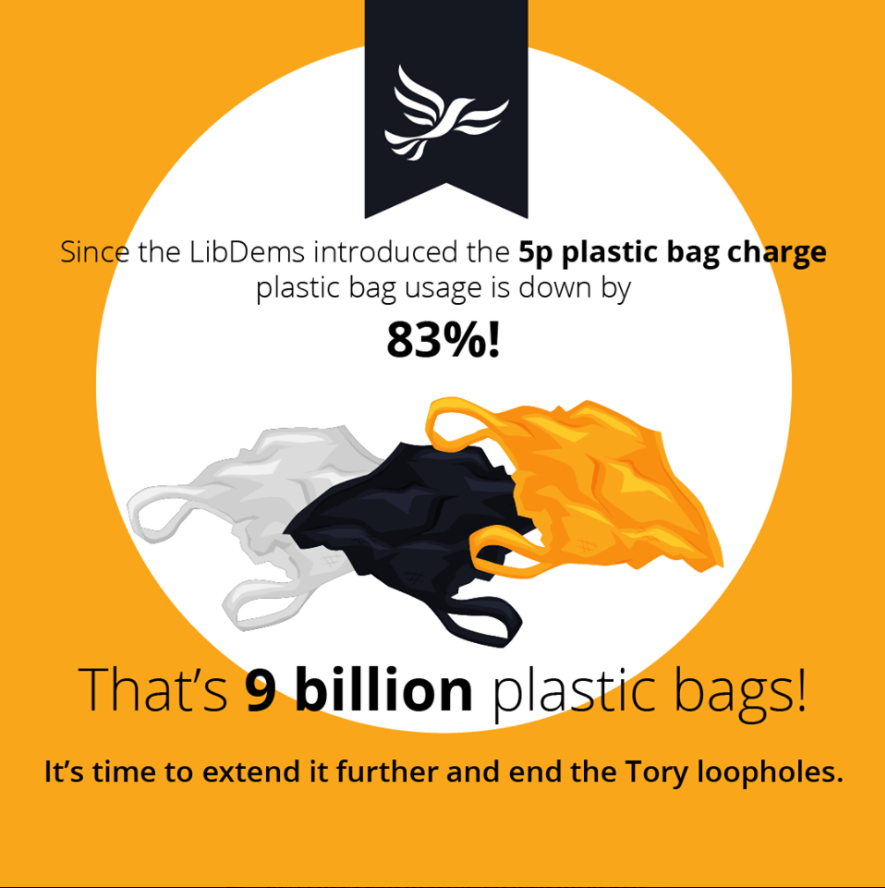 Plastic waste tackled by the Lib Dems
