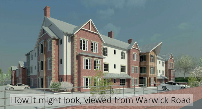 Proposed Care Home on Warwick Road