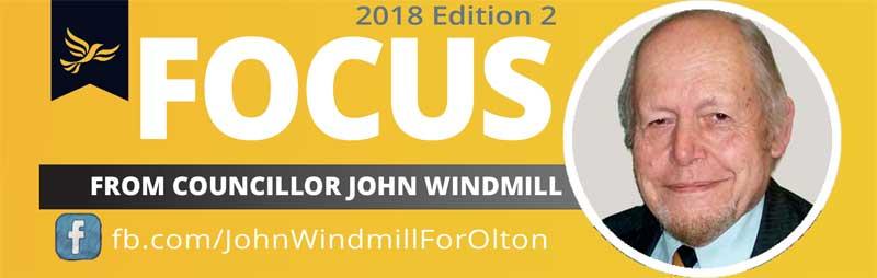 John Windmill's Olton Focus - edition 2 2018