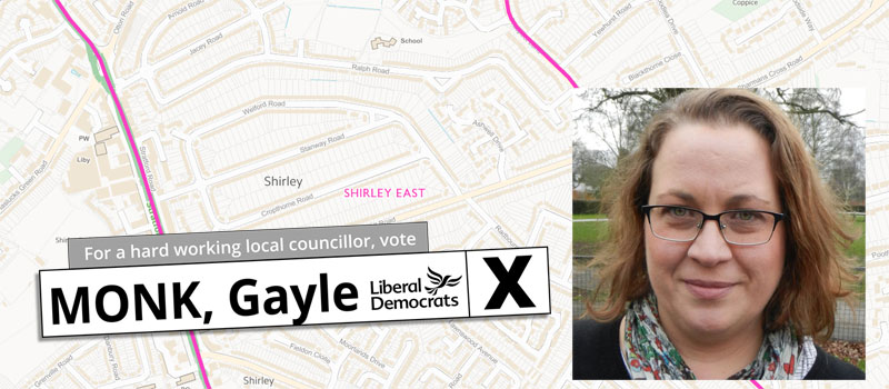 Vote for Gayle Monk in Shirley East