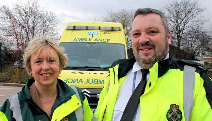 Lorely Burt brings ambulances back to Solihull