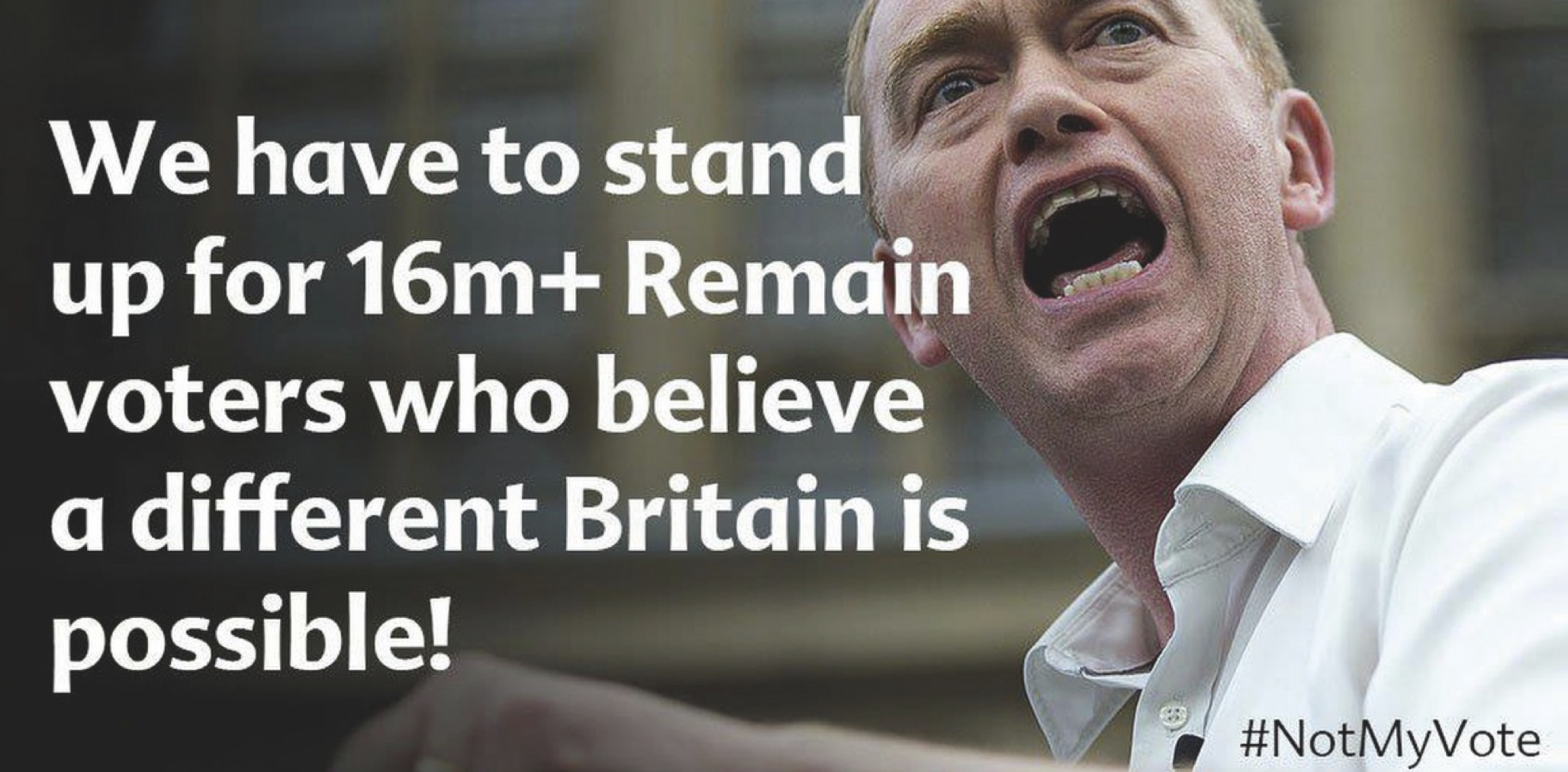 Liberal Democrats stand for the 48%