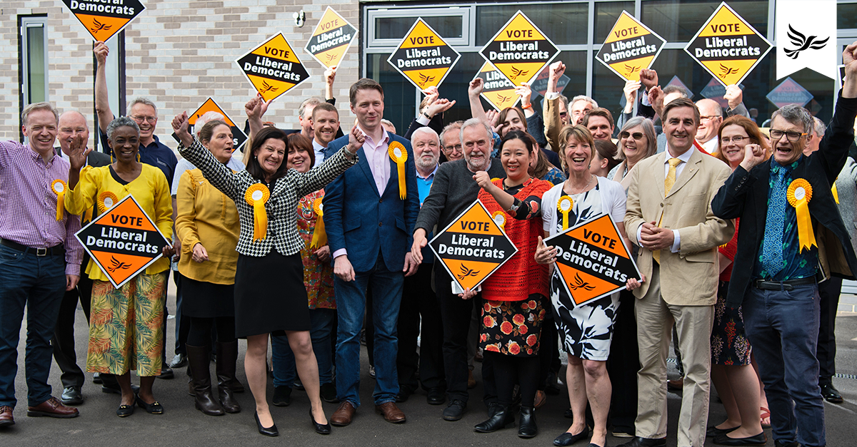 Thank You (Lib Dems take control of South Cambs Council)
