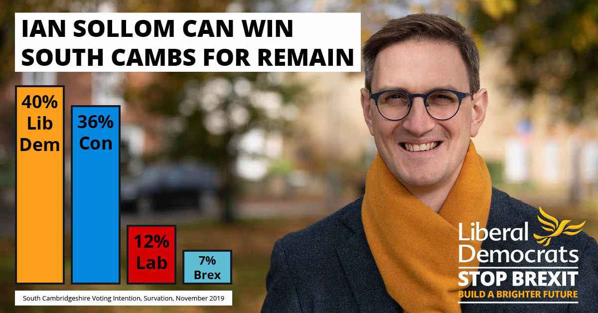 We Can Do This! Lib Dems Leading in South Cambs
