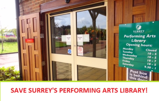 Liberal Democrats launch petition to save the Surrey Performing Arts Library