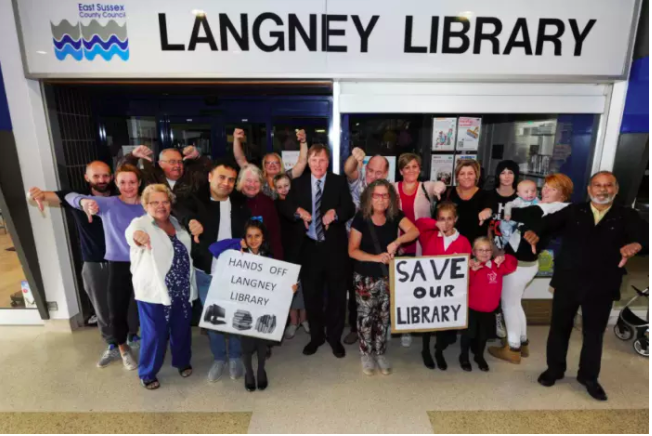 Campaigners organise protest walk to save Langney Library