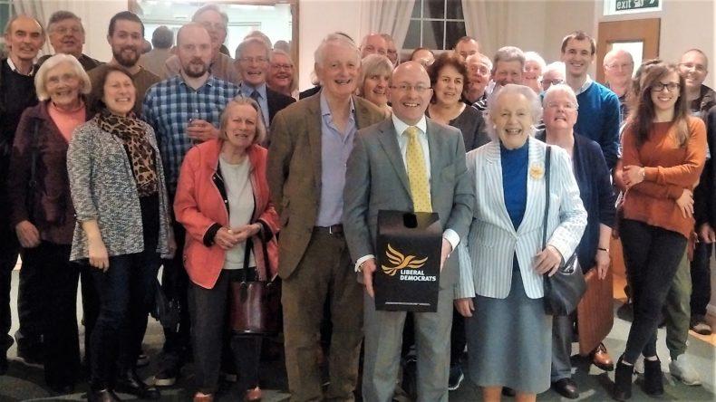 Mid Sussex Liberal Democrats select Robert Eggleston