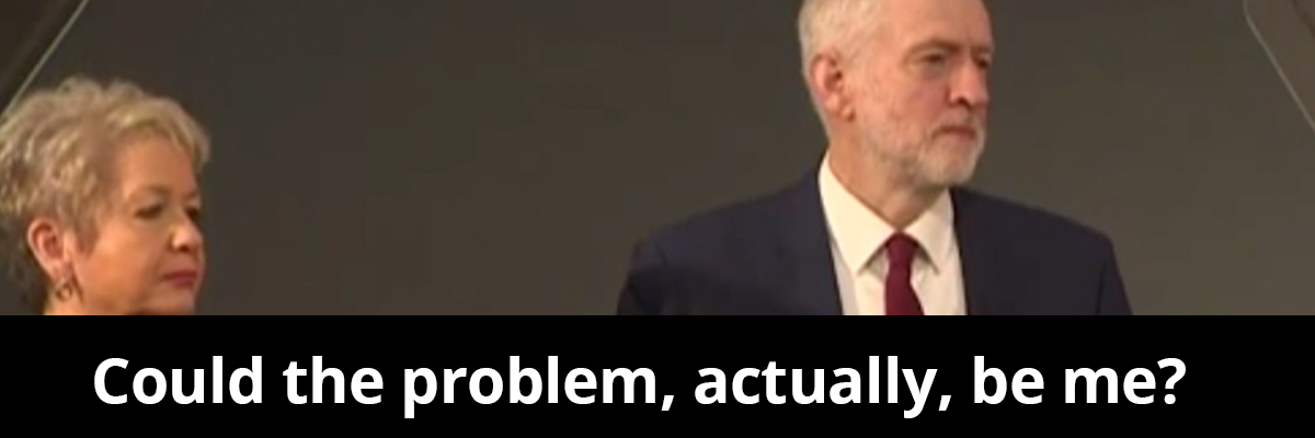 Jeremy Corbyn can't lead his party, let alone a country  Jeremy Corbyn is never going to be Prime Minister because he can't even lead his own party
