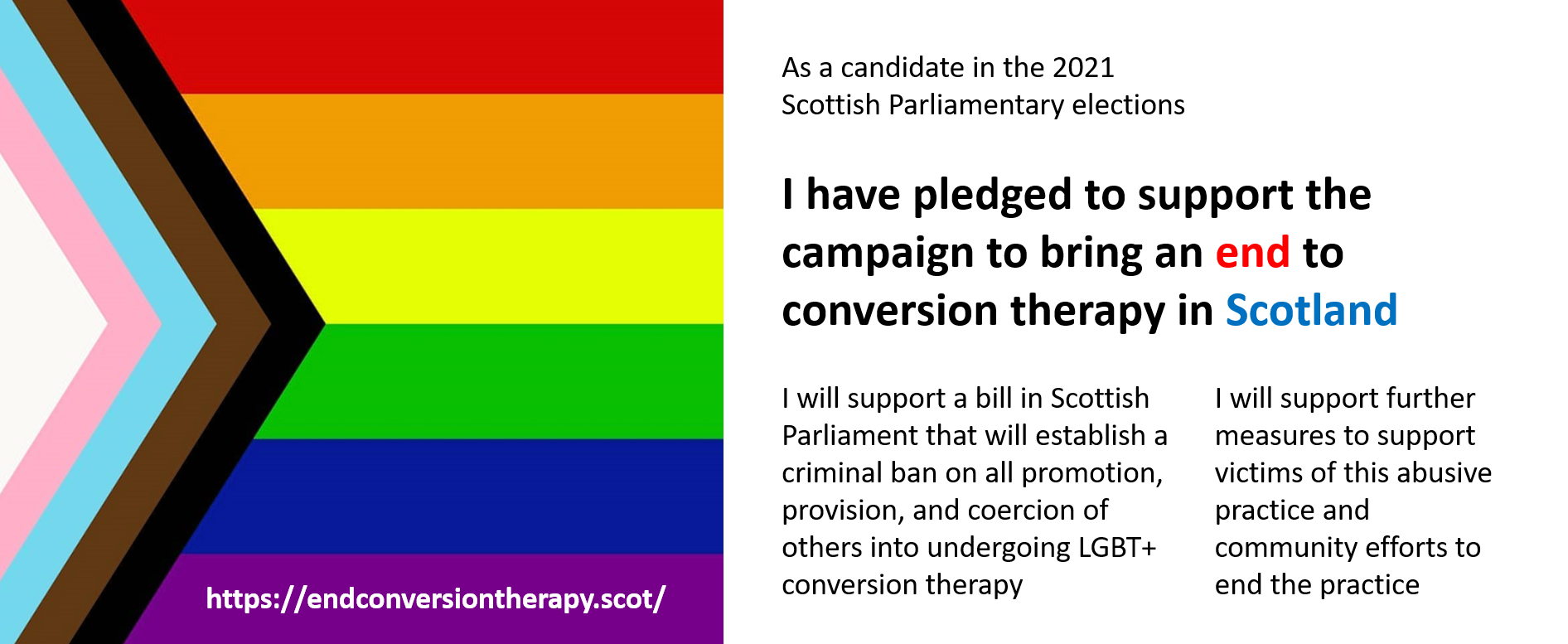 End Conversion Therapy in Scotland