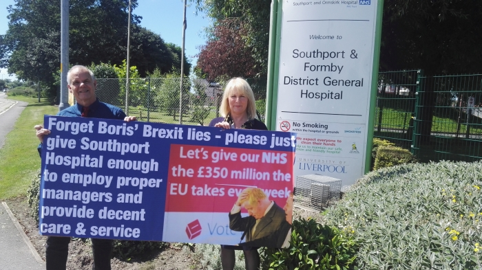 Southport Lib Dems have raised further concerns over the future of Southport and Ormskirk Hospital Trust.           Four top bosses at the Trust, including the chief executive Jonathan Parry, were suspended on full pay in August 2015 for unknown reasons after three separate whistleblowing...